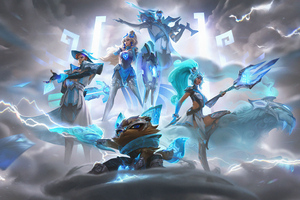 Damwon Gaming League Of Legends 5k Wallpaper