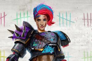 Dan Luvisi Scifi Warrior Girl 4k Wallpaper