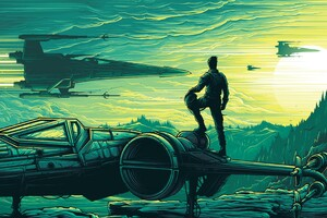 Dan Mumford Star Wars The Force Awakens 4k