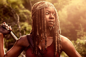 Danai Gurira As Michonne In The Walking Dead Season 9 2018