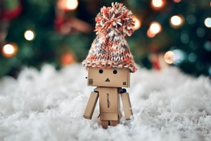 Danbo Christmas Wallpaper