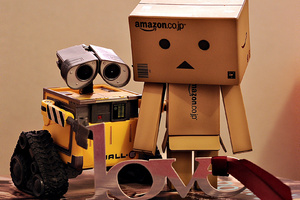 Danbo And WallE