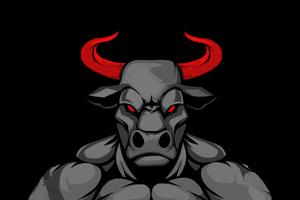 Dangerous Bull 5k Wallpaper