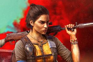Dani Rojas Female Character Far Cry 6 Wallpaper