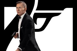 Daniel Craig As James Bond No Time To Die Wallpaper