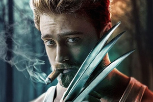 Daniel Radcliffe As Wolverine Art