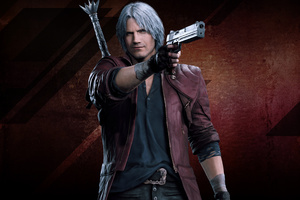 Dante Devil May Cry 4k
