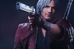 Dante Devil May Cry 5k