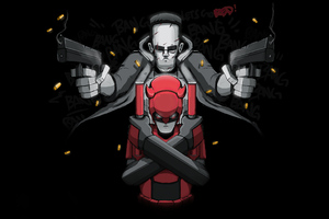 Daredevil And Punisher 4k Wallpaper