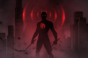 Daredevil Bosslogic 4k Wallpaper