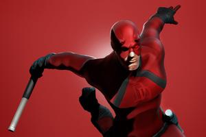 Daredevil Minimalist 4k Wallpaper