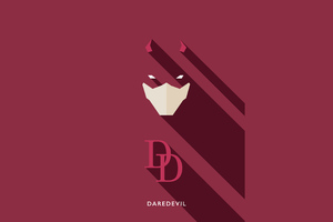 Daredevil Minimalists 4k