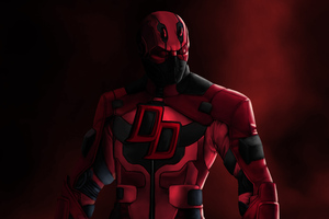 Daredevil Ninja 4k Artwork