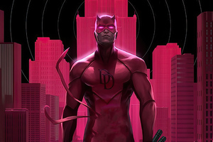 Daredevil Pink Wallpaper