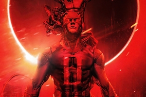 Daredevil Red Is My Colour Wallpaper