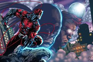 Daredevil Superhero Art 4k Wallpaper