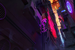 Dark Alley League Of Legends Wallpaper