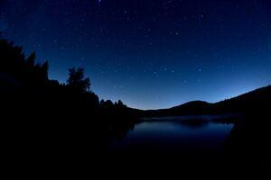 Dark Blue Evening