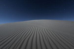 Dark Desert Night 5k Wallpaper