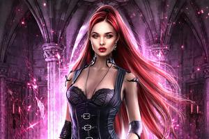 Dark Fantasy Paranormal Romance 4k Wallpaper