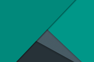 Dark Green Material Design Wallpaper