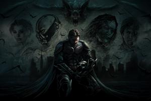 Dark Knight Artwork New Wallpaper