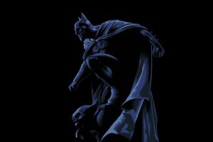 Dark Knight Illustration 5k Wallpaper