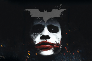 Dark Knight Joker Darkness 4k