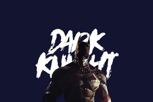 Dark Knight Low Poly