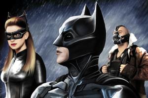 Dark Knight Rises Art Wallpaper