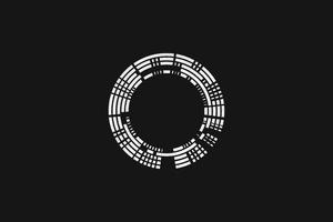 Dark Minimalism Circle 5k