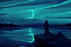 Dark Moon Wallpaper