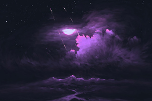 Dark Moonlight Wallpaper