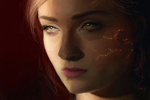 Dark Phoenix Fanart Wallpaper