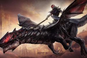 Dark Rider Wallpaper