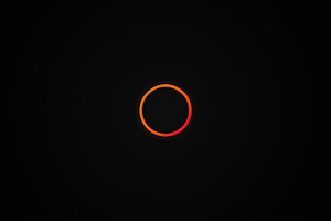 Dark Simple Circle 4k Wallpaper