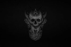 Dark Skull Wallpaper