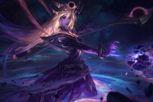 Dark Star And Cosmic Lux Splash 4k
