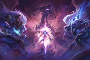 Dark Star Vs Cosmic League Of Legends 5k Wallpaper