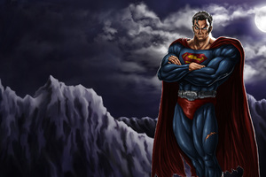 Dark Superman Art