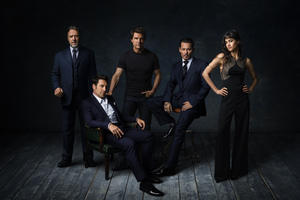 Dark Universe Russell Crowe Javier Bardem Tom Cruise Johnny Depp And Sofia Boutella Wallpaper