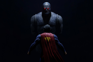 Darkseid Vs Superman Wallpaper
