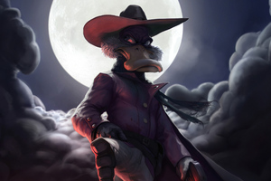 Darkwing Duck Art 4k Wallpaper