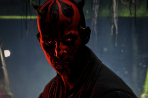 Darth Maul Star Wars Battlefront 2 4k
