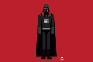 Darth Vader 4k Minimalism Wallpaper