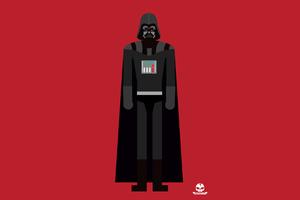 Darth Vader 4k Minimalism