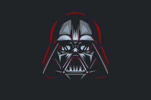 Darth Vader 5k Minimalism Wallpaper