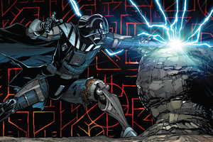 Darth Vader Comic Art