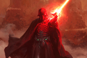 Darth Vader Coming Wallpaper