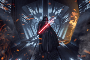 Darth Vader Dark Force Wallpaper